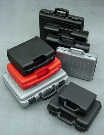 Injection moulded polypropylene utility cases